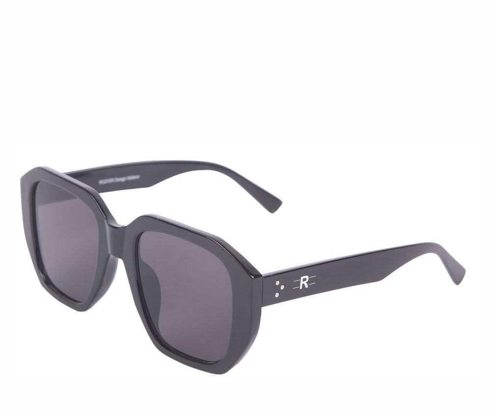 Rozior Black Men Women Sunglass with UV Protection Black Lens with Black Frame (Lens: Black || Frame: Black, Model: RSU15032C1)
