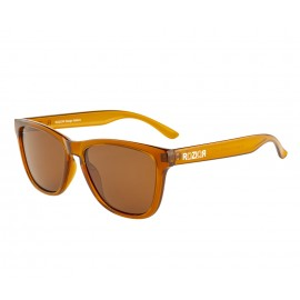 Rozior Brown Men Women Polarised Sunglass with UV Protection Brown Lens with Brown Frame Model: RWP8200C2