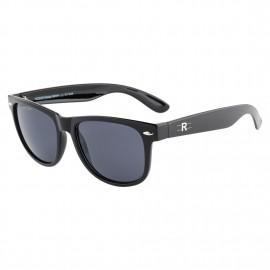 Rozior Black Men Women Sunglass with UV Protection (Lens: Black    Frame: Black, Model: RWU1028C1)