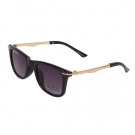 Rozior Black Kids Sunglass with UV Protection Black Lens with Black Frame, MODEL: RWUK169C1
