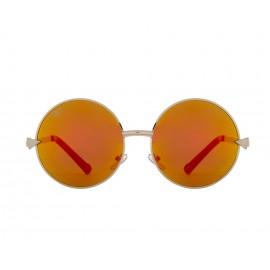 Classic Sun Mirror UV400 Round Sunglasses