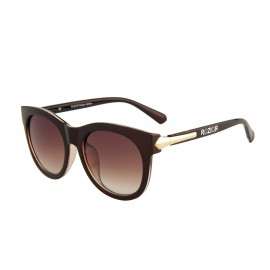 Rozior Brown Women Sunglass with UV Protection Brown Lens with Brown Frame  (Lens: Brown || Frame: Brown, Model: RWU2130C30)