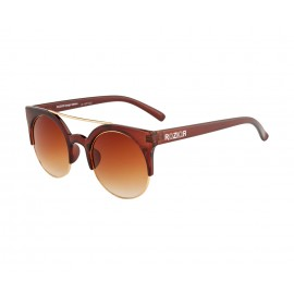 Rozior Brown  Men Women Sunglass with UV Protection Brown Lens with Brown Frame  (Lens: Brown  || Frame: Brown  , Model: RWU1032C2)