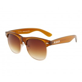 Rozior Brown  Men Women Sunglass with UV Protection Brown Lens with Brown  Frame (Lens: Brown  || Frame: Brown  , Model: RWUKY034C2)