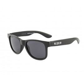Rozior Black Kids Sunglass with UV Protection Smoke Lens with Black Frame (Lens: Smoke|| Frame: Black, Model: RWUK1028C1)