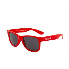 Rozior Red Kids Sunglass with UV Protection Smoke Lens with Red Frame (Lens: Smoke|| Frame: Red, Model: RWUK1028C5)