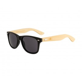 Rozior Sand Black Men Women Sunglass with UV Protection Grey Lens with Sand Black Frame  (Lens: Grey || Frame: Sand Black, Model: RSU150107C1)