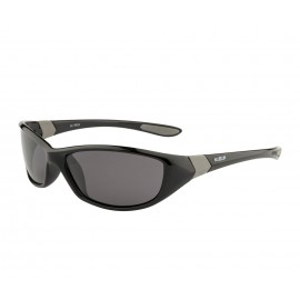 Rozior Black Men Women Polarised Sunglass with UV Protection Smoke Lens with Black Frame (Lens: Smoke|| Frame: Black, Model: RWPP510C1)