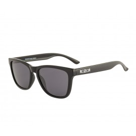 Rozior Black Men Women Polarised Sunglass with UV Protection Black Lens with Black Frame Model: RWP8200C1