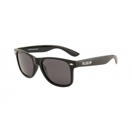 Rozior Black Men Women Polarised Sunglass with UV Protection Smoke Lens with Black Frame Model: RWPPJH1028C1