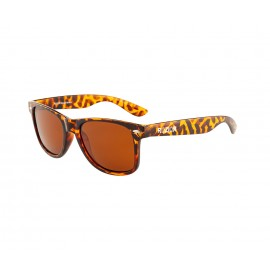Rozior Tortoise Men Women Polarised Sunglass with UV Protection Brown Lens with Tortoise Frame (Lens: Brown || Frame: Tortoise, Model: RWPPJH1028C7)