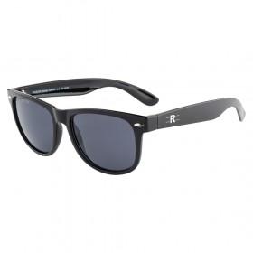 Rozior Black Men Women Sunglass with UV Protection (Lens: Black || Frame: Black, Model: RWU1028C1)