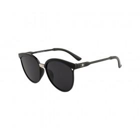 Rozior Black Women Sunglass with UV Protection Black Lens with Black Frame  (Lens: Black || Frame: Black, Model: RSUJH15940C1)