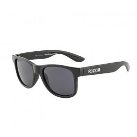 Rozior Black Kids Sunglass with UV Protection Smoke Lens with Black Frame (Lens: Smoke   Frame: Black, Model: RWUK1028C1)