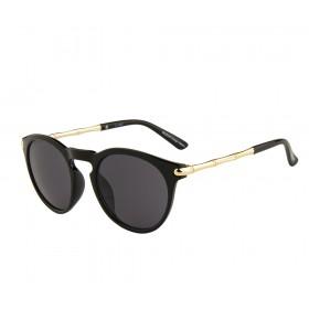 Rozior Black Women Sunglass with UV Protection Black Lens with Black Frame  (Lens: Black || Frame: Black, Model: RWU9267C1)