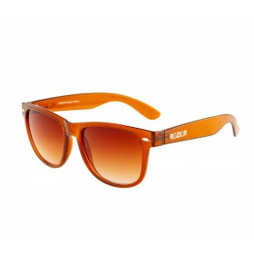 Rozior Brown Men Women Sunglass with UV Protection Lens Brown With Brown Frame Model: RWU1028C2)