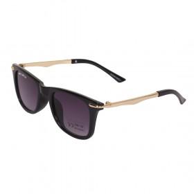 Rozior Black Kids Sunglass with UV Protection Black Lens with Black Frame, MODEL: RWUK169C1