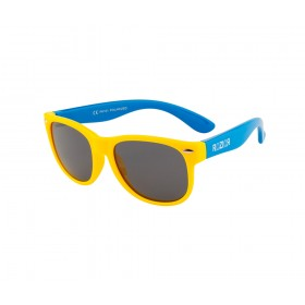 Rozior Yellow Kids Polarised Sunglass with UV Protection Black Lens with Yellow Frame  (Lens: Black    Frame: Yellow, Model: RWPPK101C3)