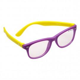 ROZIOR Italy Anti-Glare Blue Light Eye Protection Computer/Mobile Screen Eye Glasses for kids | Zero Power Computer Light Protection | Best For Online Classes | Model: RSHUK12667C7