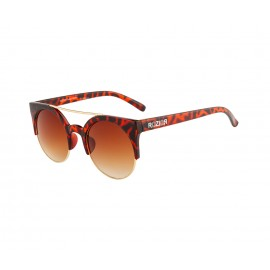 Rozior Tortoise  Men Women Sunglass with UV Protection Brown Lens with Tortoise Frame  (Lens: Brown || Frame: Tortoise , Model: RWU1032C7)