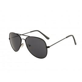Rozior Black Kids Sunglass with UV Protection Smoke Lens with Black Frame  (Lens: Smoke|| Frame: Black, Model: RWUK0909C1)