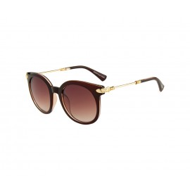 Rozior Brown Women Sunglass with UV Protection Brown Lens with Brown Frame (Lens: Brown || Frame: Brown, Model: RWU2129C30)