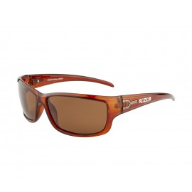 Rozior Brown Men Women Polarised Sunglass with UV Protection Brown Lens with Brown Frame (Lens: Brown || Frame: Brown, Model: RWPP503C2)