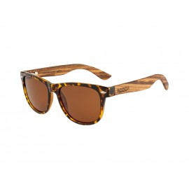 Rozior Tortoise Men Women Polarised Sunglass with UV Protection Brown Lens with Tortoise Frame (Lens: Brown|| Frame: Tortoise, Model: RWP1501C7)