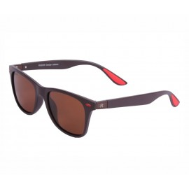 Rozior Brown Men Women Polarised Sunglass with UV Protection Gloss Brown Lens with Brown Frame  (Lens: Gloss Brown    Frame: Brown, Model: RSP11151C5)