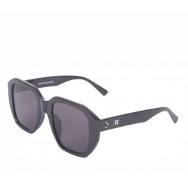 Rozior Black Men Women Sunglass with UV Protection Black Lens with Black Frame (Lens: Black    Frame: Black, Model: RSU15032C1)