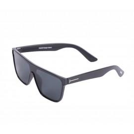Rozior Black Men Women Sunglass with UV Protection Black Lens with Black Frame  (Lens: Black || Frame: Black, Model: RSU13545C1)